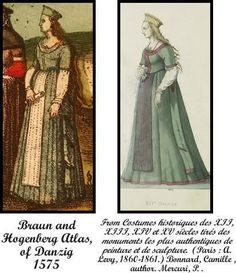 16th century German costume references