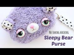 DIY Kawaii Purse | Sleepy Bear Purse Sewing Tutorial | Kawaii Crafts - YouTube