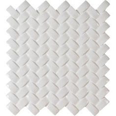 MS International Whisper White Arched Herringbone 12 in. x 12 in. Glazed Porcelain Mesh-Mounted Mosaic Wall Tile-PT-WW-AHB at The Home Depot