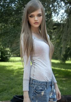 "hardly believable she is real.  She is a:""Living Doll"""