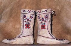 How to Make Moccasins at Home ; http://www.ehow.com/how_10065761_make-moccasins-home.html#