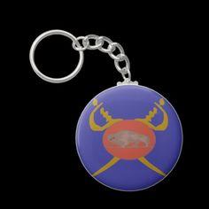 Buffalo Soldier Badge Key Chains
