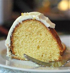 Eggnog Bundt Cake with Eggnog Buttercream