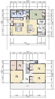 40坪収納の多い間取り、パントリー土間収納、納戸 Cafeteria Plan, Engineering Notes, Japan Architecture, Floor Plants, House Layouts, House Floor Plans, My House, Building A House, I Am Awesome