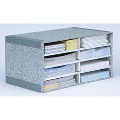 Bankers Box Desktop Sorter, 8 Compartments