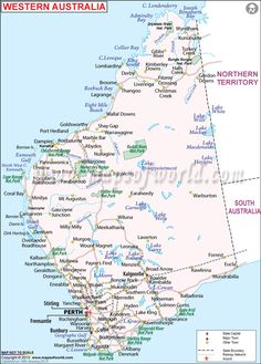 Number one place too see australia sydneymelbournesydney opera map of western australia to get information about cities airports roads and raiways in the australia largest state named western australia with a total gumiabroncs Gallery