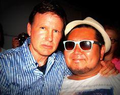 Corey Hart and me.