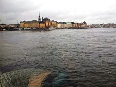 View from the hostel in Stockholm  [2012] #travel #Stockholm #Sweden
