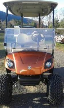 2009 Yamaha Drive 48 Volt Electric Golf Cart New Paint Job Has 2017