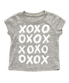 XoXo Tee - Tops & Tees - Shop - baby girls | Peek Kids Clothing