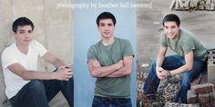Senior Boy Poses