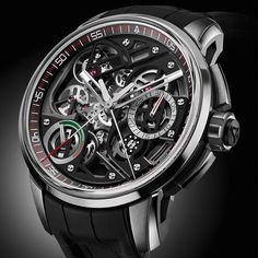 luxury watches 10 Notable Tourbillon Watches from Baselworld 2016 Best Watches For Men, Fine Watches, Luxury Watches For Men, Cool Watches, Men's Watches, Pocket Watches, Casual Watches, Tourbillon Watch, Silver Pocket Watch