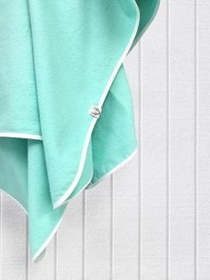 Soft Mint Flannel Swaddle