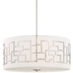 Cool modern light fixture. Maybe over dining room table?