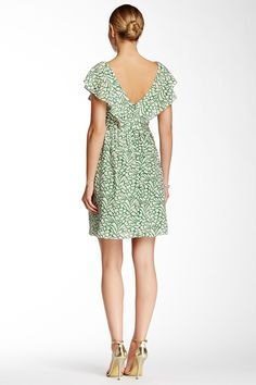 Gigi Printed Fit & Flare Silk Dress by Jenny Yoo Collection on @nordstrom_rack