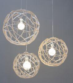 Plywood pendant lamp HAVAS 50 by SHOWROOM Finland design Tuukka Halonen
