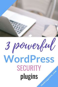 3 powerful WordPress plugins for security - WordPress plugins for security are important for keeping your site secure, but only half the story. Check out this epic post to get your site secure today - {hashtag} Make Money Blogging, Make Money Online, How To Make Money, How To Get, Learn Wordpress, Wordpress Plugins, Wordpress Admin, Wordpress Theme, Website Security