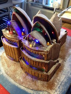 holy crap. Sydney Opera Gingerbread house!!! This is so cool