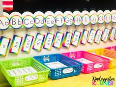 Read about how switching from a traditional word wall to a portable version has been an absolute game-changer in my kindergarten classroom! Kindergarten Goal Sheet, Classroom Word Wall, Kindergarten Classroom Setup, Toddler Classroom, Classroom Organisation, Kindergarten Reading, Classroom Design, Word Wall Letters, Letter Wall