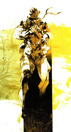 metal-gear-solid-peace-walker-roman-artworks-yoji-shinkawa-16.jpg (600×1113)