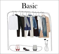 ベーシックアイテムを少ない予算で揃えるコツ。   パリジェンヌシンプルファッション・好きな服だけのワードローブとシンプルをおしゃれに着こなすコツ B Fashion, Womens Fashion, Fashion Design, Capsule Wardrobe Work, Minimal Wardrobe, Clothing Photography, Parisian Chic, Clothes For Women, How To Wear