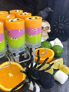 Halloween Monster Party Fudge Fun Easy Recipes, Fudge Recipes, Best Dessert Recipes, Candy Recipes, Fun Desserts, Marshmallow Fudge, Push Up Pops, Gel Food Coloring, Monster Party