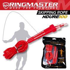 RINGMASTER SPORTS SKIPPING ROPE 3M RED