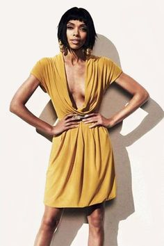 Tamara Taylor Photoshoot With Brian Higbee. Definitely different than in Bones! But killer dresses then too! Black Celebrities, Celebs, Tamara Taylor, Grown Out Pixie, Black Actresses, Ebony Beauty, Great Women, Most Beautiful Women, Lady
