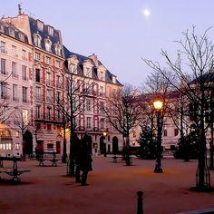 Place Dauphine, París. La mujer de mi vida. Nicolás Barreau.