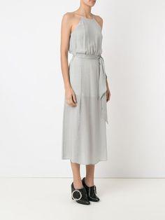 GIULIANA ROMANNO | striped silk dress