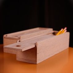 simple 17 Best ideas about Wooden Pencil Box on Pinterest   Pencil boxes Wooden pencils and Pencil design