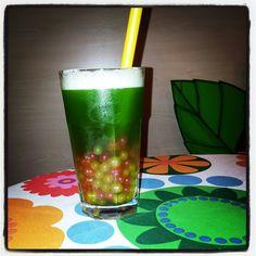 Based on green tea - colorfull and refreshing / na bazie herbaty zielonej - kolorowe i orzeźwiające :)