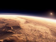 This Is What a Sunrise Looks Like. On Mars! Amazing Images….