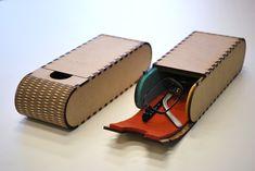 Portable glasses case (f.Labo) by YamashitaKen.