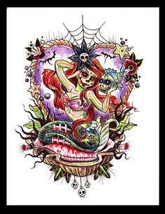 Dead Ariel by PrettyGore on DeviantArt