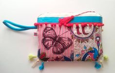 Bolso de mano tresCandela, pintado a mano www.trescandela.com