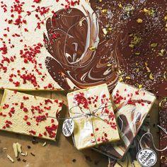 Bunte Schokoladentafeln - BRIGITTE -Klingt leckaaaa