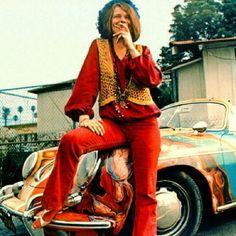 Janis Joplin with her Porsche 356 Cabriolet Vintage Poster New Janis Joplin, Weed Quotes, Stoner Quotes, Arya Stark, Porsche 356 Convertible, Rock And Roll, Hippie Man, Happy Hippie, Hippie Chick