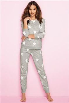 Buy Star Print Pyjamas from the Next UK online shop