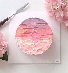 Pretty Birthday Cakes, Pretty Cakes, Beautiful Cakes, Amazing Cakes, Birthday Cake Designs, Heart Birthday Cake, Mini Cakes, Cupcake Cakes, Frog Cakes