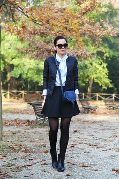 Gonna a vita alta, una signorina per bene ed un capodanno on the road! - Irenes Closet - Fashion blogger outfit e streetstyle