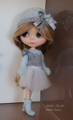 Blythe total look outfit with pull over by juliettaexussetta, €23.00