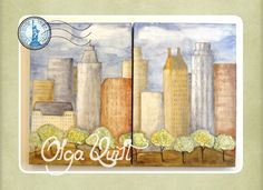 Olga Quilt Central Park, The Unit, Quilts, Scrappy Quilts, Triangle Top, Spring, Comforters, Cental Park, Patch Quilt