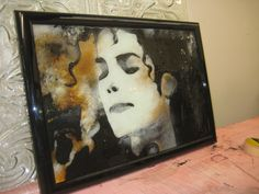 Michael Jackson Fused Glass « David Smith – Traditional Ornamental Glass Artist ... not that I'm a huge Jacko fan, but ... WOW!