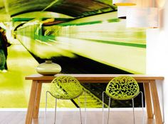 Metropolis wall art from Nono Designer Wallpaper, Wallpaper S, Cole And Son, Wall Decor, Wall Art, Designers Guild, Plant Leaves, Bloom, Interior