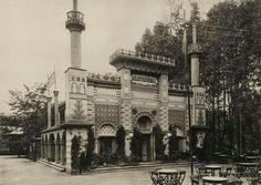 1896. Millenniumi kiállítás. Városliget, Keleti kávéház.