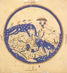 fuck yeah cartography!  Al-Idrisi's world map, from his 1154 world atlas.