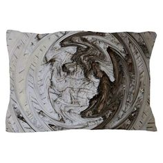 Birch Tree Yin and Yang Pillow Case on CafePress.com