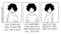unsatisfiedjudge: focus on the people who love you already!