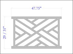 The Chippendale Unique Railing Panel For Your Porch and Deck | The Porch Store
